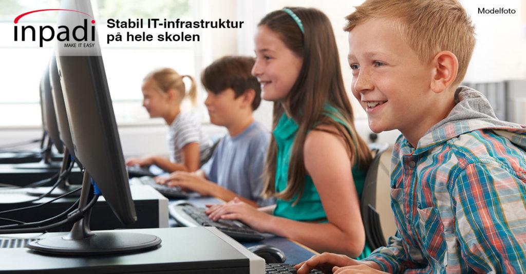 stabilt IT-infrastruktur på skole