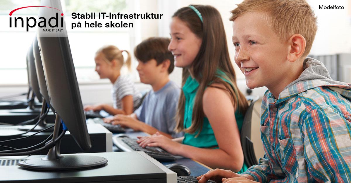 Stabil it infrastruktur skole - Forside